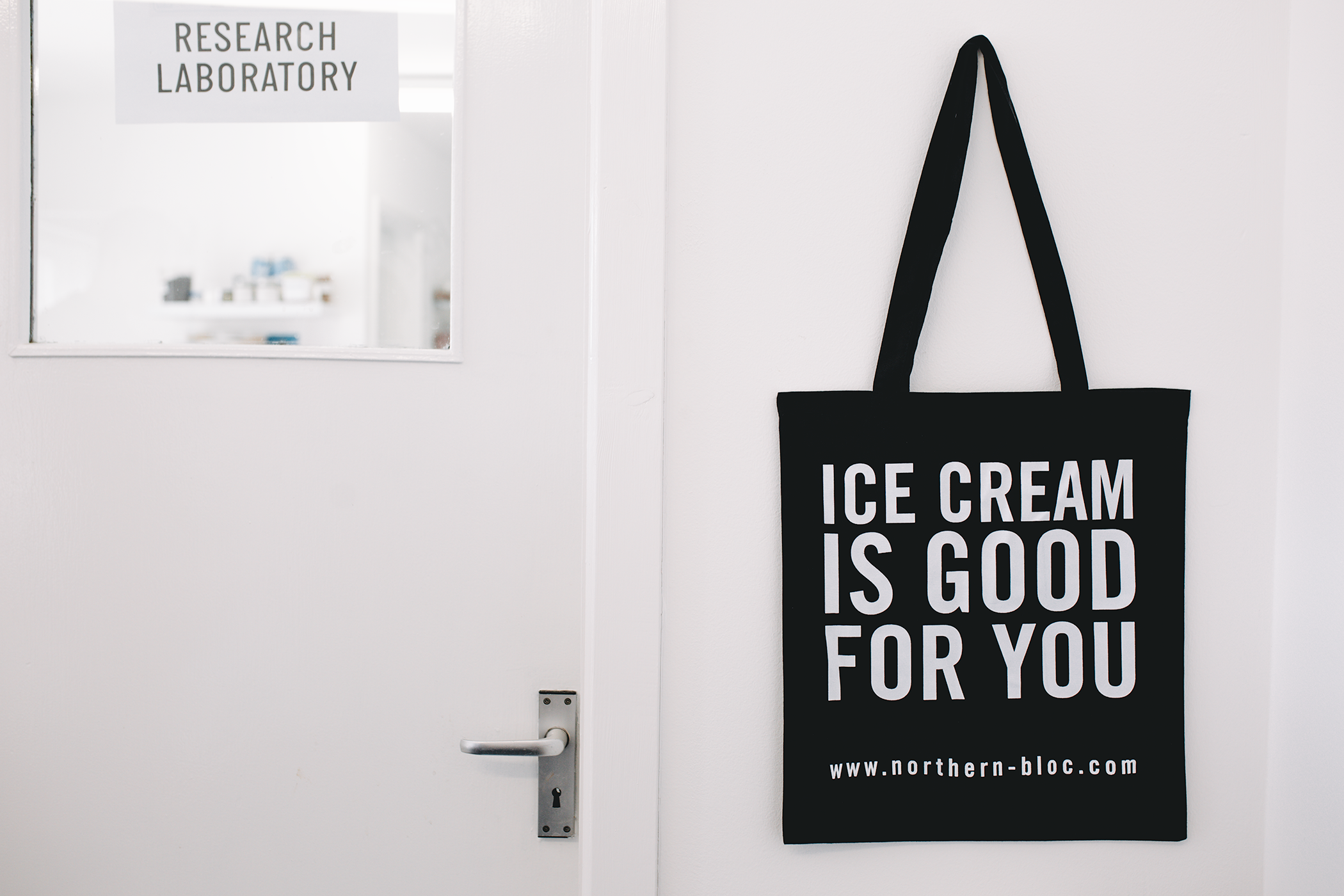 Northern Bloc, ice cream, tote bag, marketing, merchandise, Awesome Merchandise