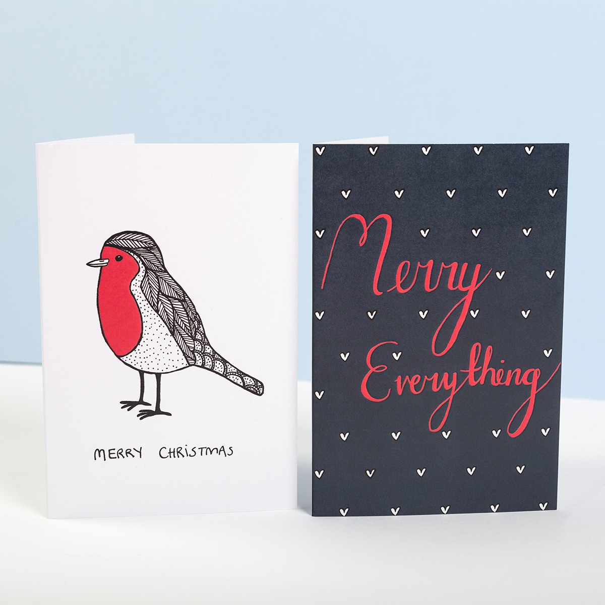 Christmas cards, greetings cards, merch, custom greetings cards, Awesome Merch