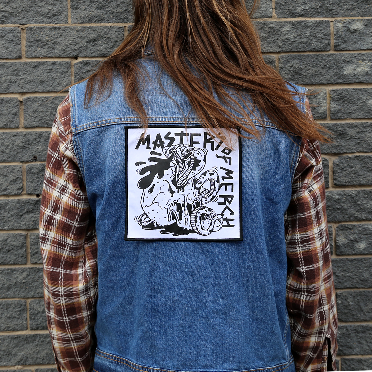Patch, patches, back patch, awesome merchandise,