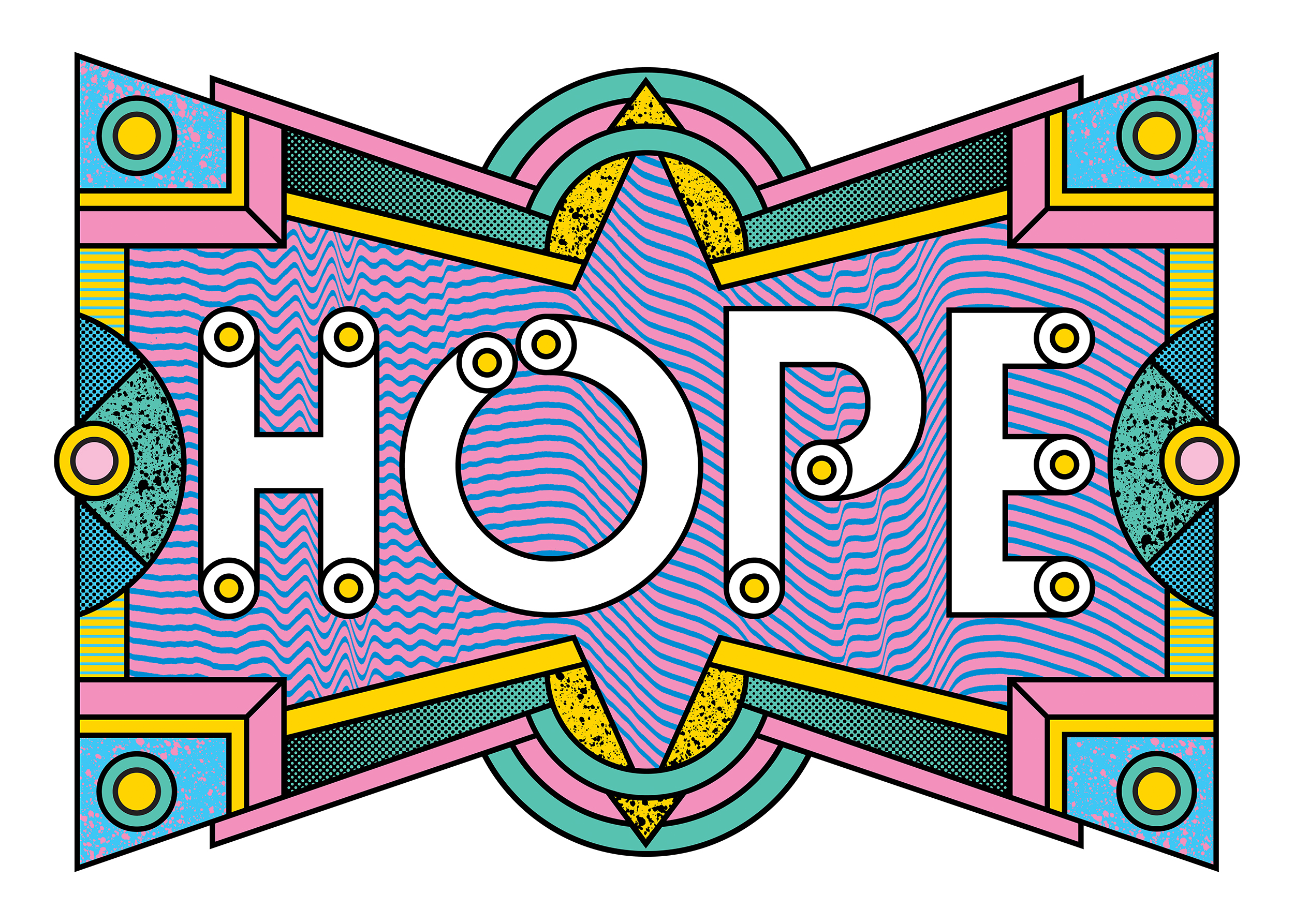 Hope, Rob Lowe, Supermundane, Graphic Art, The Travelling Canvas, Awesome Merchandise,