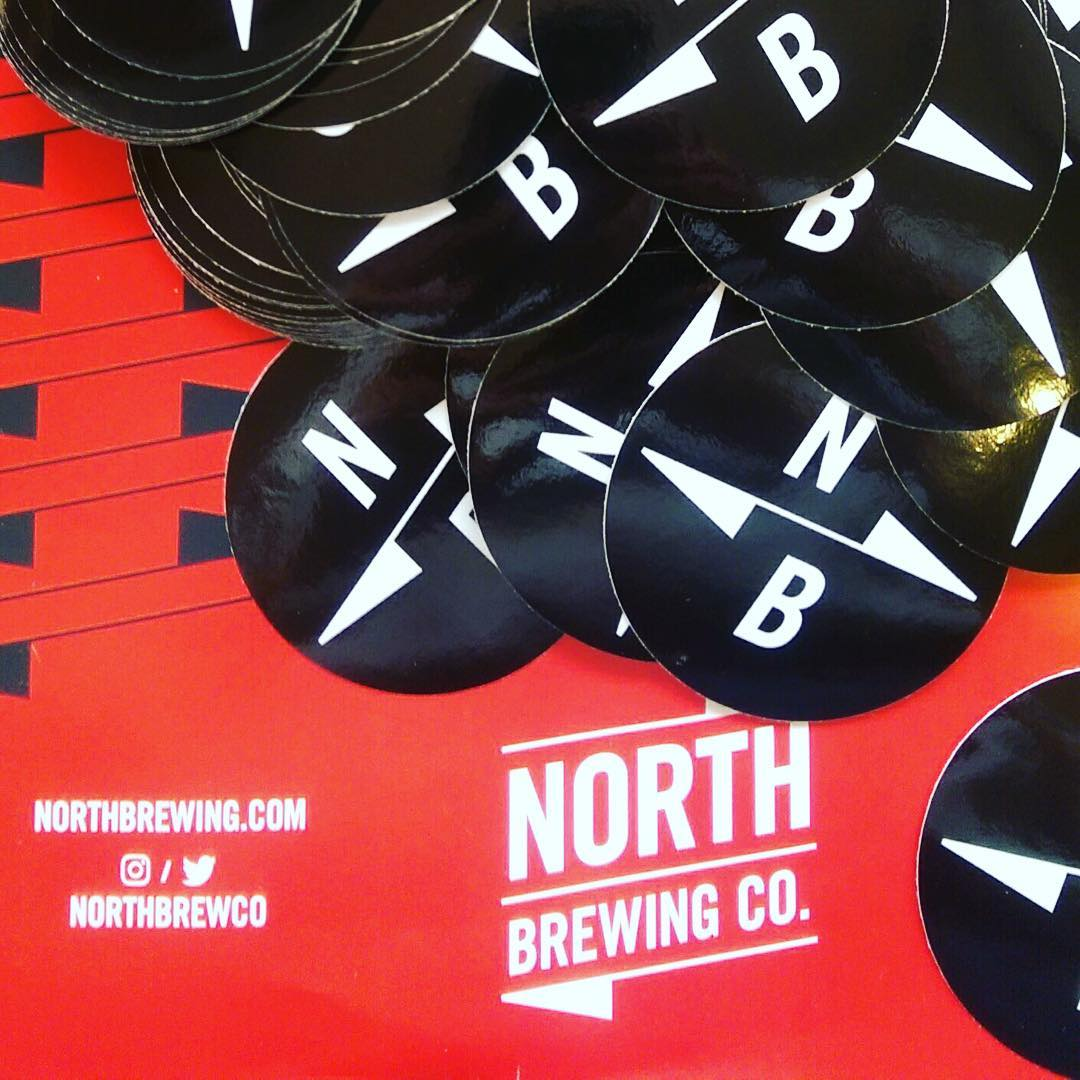 North Brewing Co., Stickers