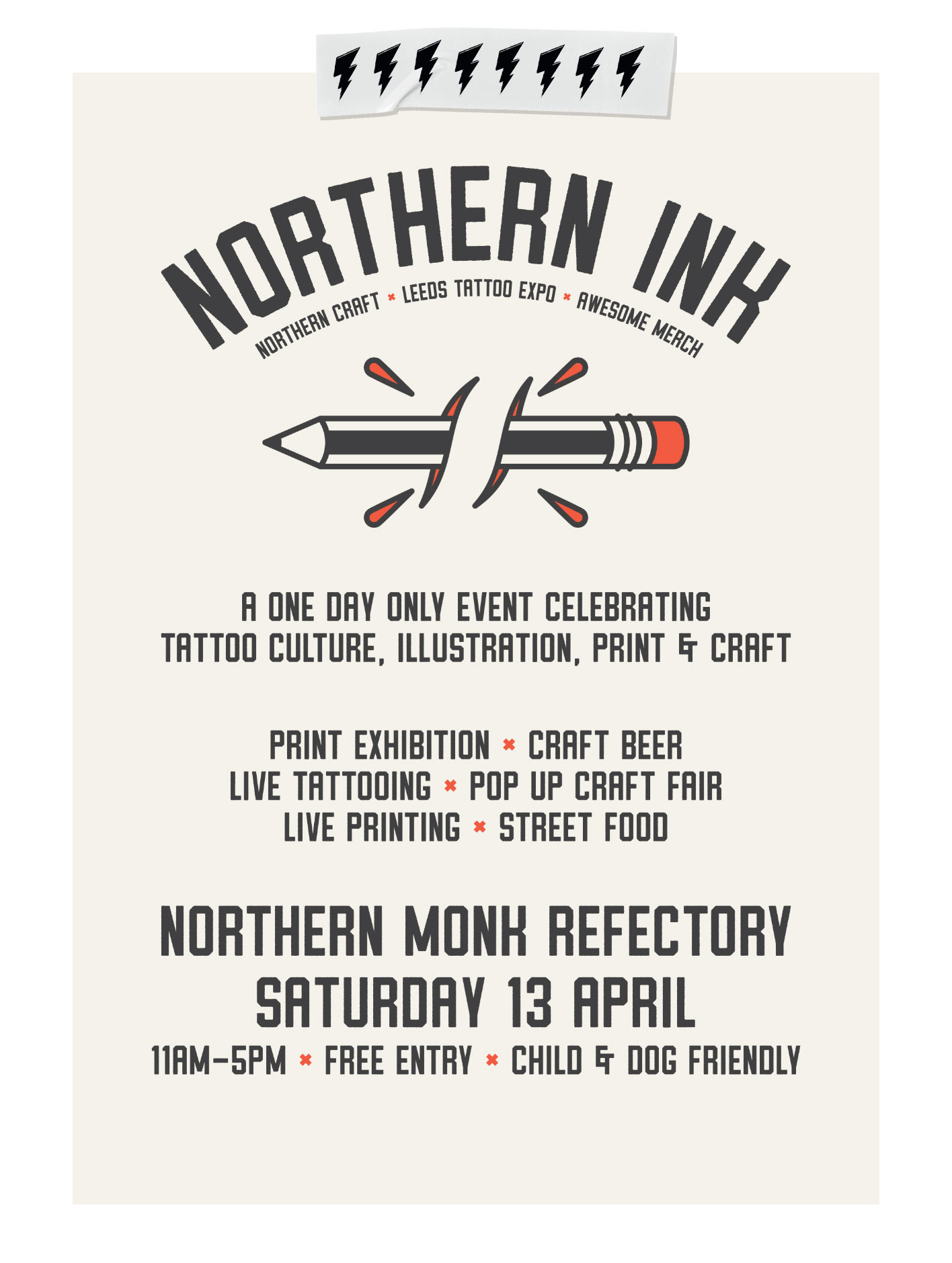Northern Ink, Northern Craft, Leeds Tattoo Expo